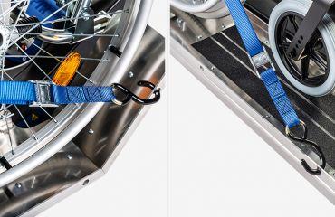 LIFTKAR PTR Système de ceinture pour rampes ascendantes