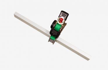 LIFTKAR HD Sangle à cliquet avec enrouleur incorporé - complet 2,5 m