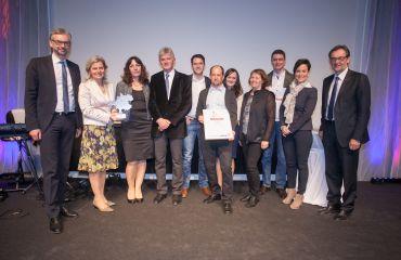 SANO récompensée en tant qu'entreprise innovante régionale - Mühlviertel