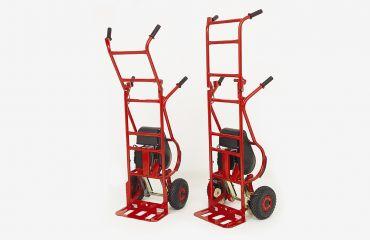 Début de la conception duLIFTKAR MTK, un diable monte-escalier électrique pour charges lourdes
