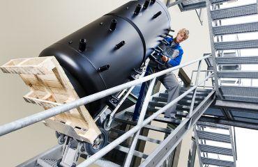 LIFTKAR HD diable eléctrique pour capacité max. 360 kg