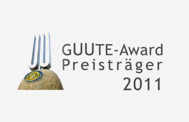 GUUTE Award 2011décerné par la chambre du commerce de la Haute-Autriche - Association GUUTE