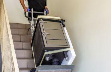 LIFTKAR diable électrique pour le transport de charges lourdes