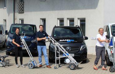 Monte-escalier LIFTKAR pour le transport de charges | pour la mobilité dans les escaliers et les chemins