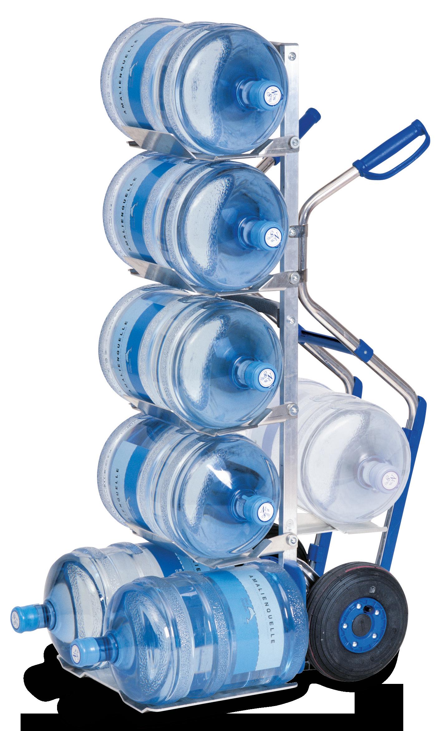 MODULKAR Porte-bonbonnes d'eau avec des poignées pistolet et des patins pour 7 bouteilles