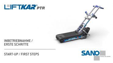 LIFTKAR PTR monte-escaliers a chenillette – installation / premiers pas